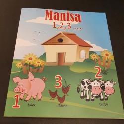 Manisa : Compter en Malgache